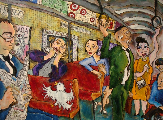 Showtime on the M Line, Barbara AG Riddle