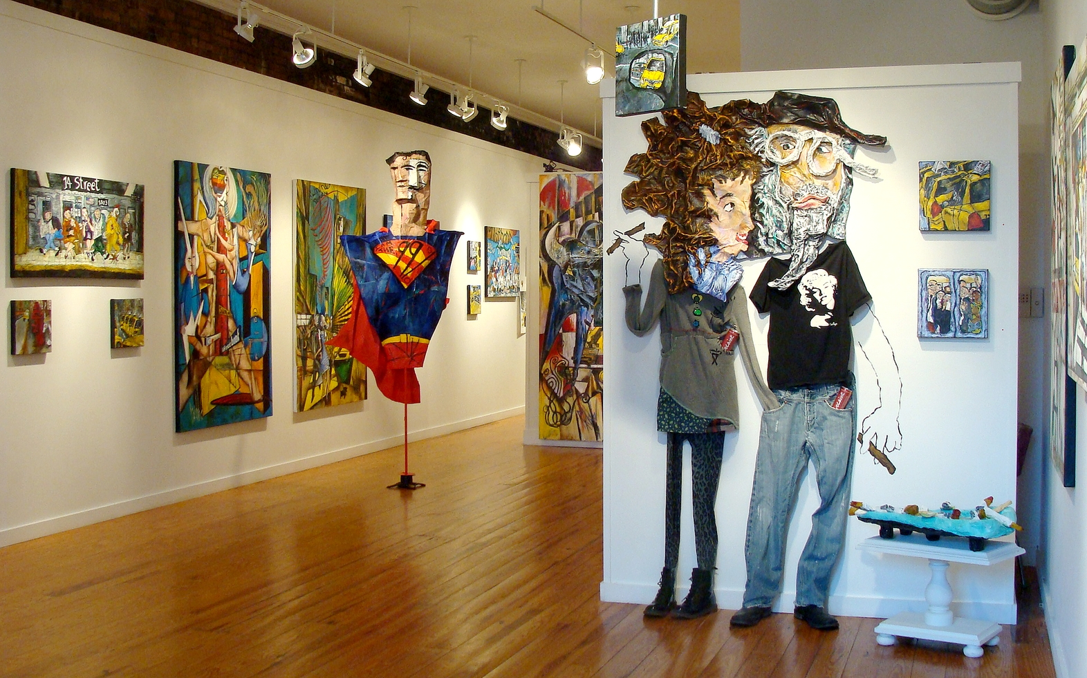 Barbara AG and Steven Paul Riddle, May Exhibit, New York